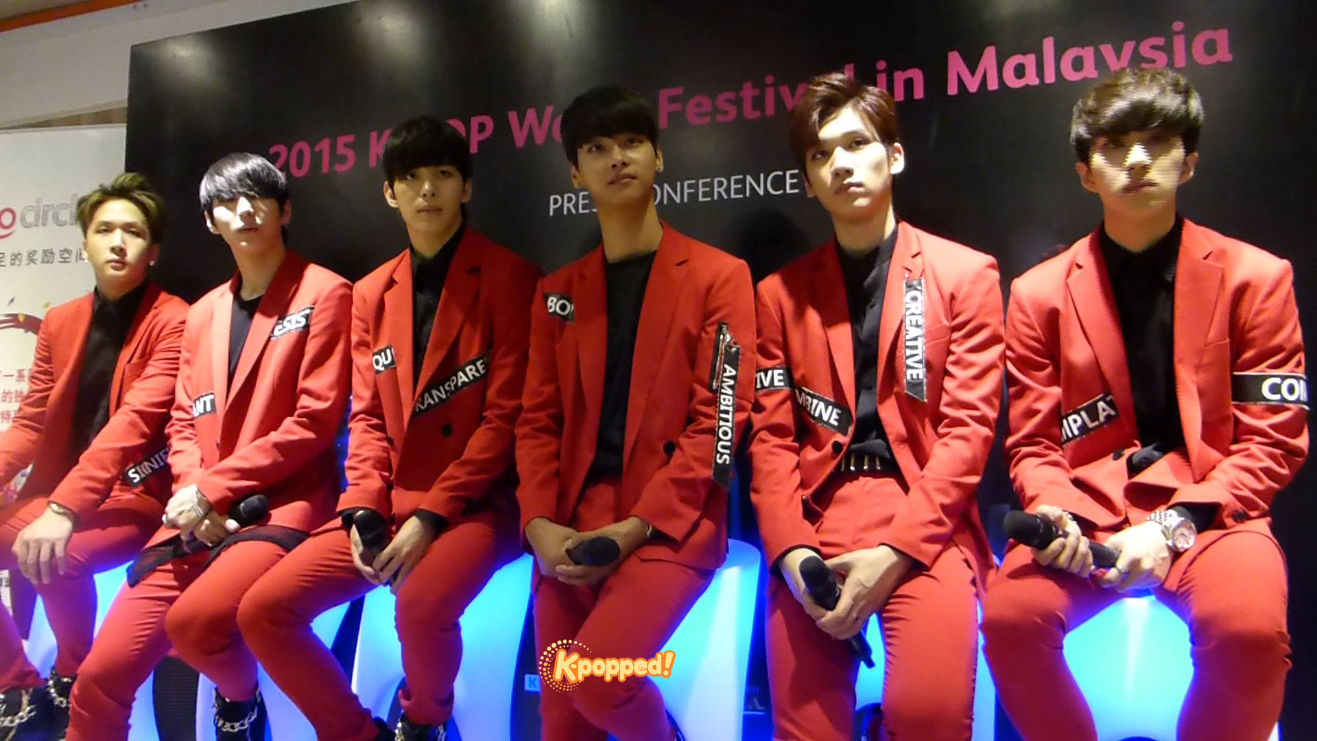 PHOTOS] Press Conference K-pop World Festival 2015 with VIXX