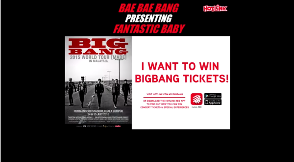 BIGBANG contest by HOTLINK