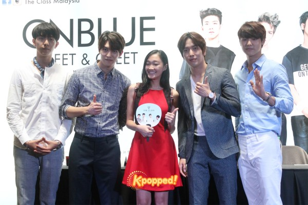 CNBLUE The Class Malaysia Meet & Greet (11)
