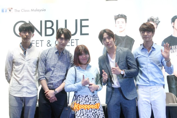 CNBLUE The Class Malaysia Meet & Greet (9)