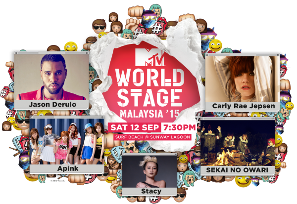 Full Line-Up for MTV World Stage Malaysia