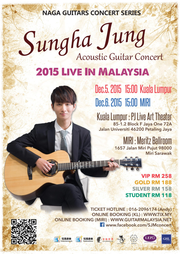 Sungha Jung Live in Malaysia 2015