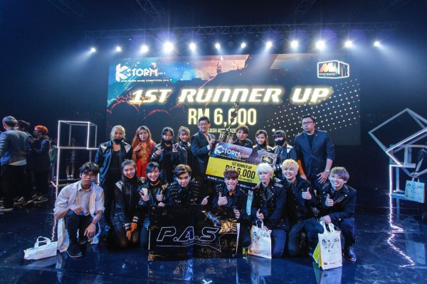 K Storm 1st Runner Up Project All Starz