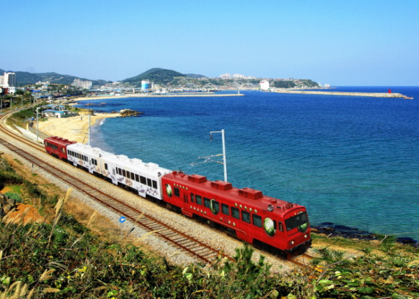 travel cheaply train across country