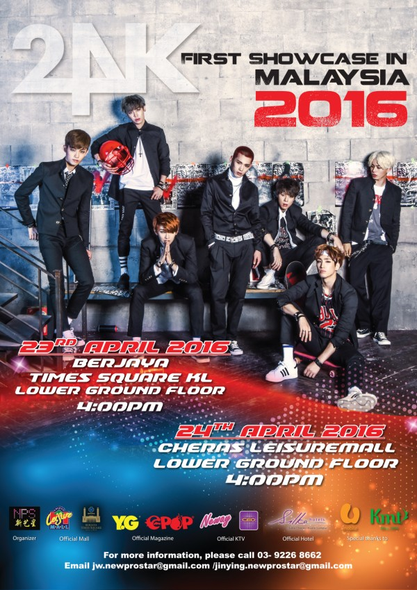 24K First Showcase in Malaysia 2016