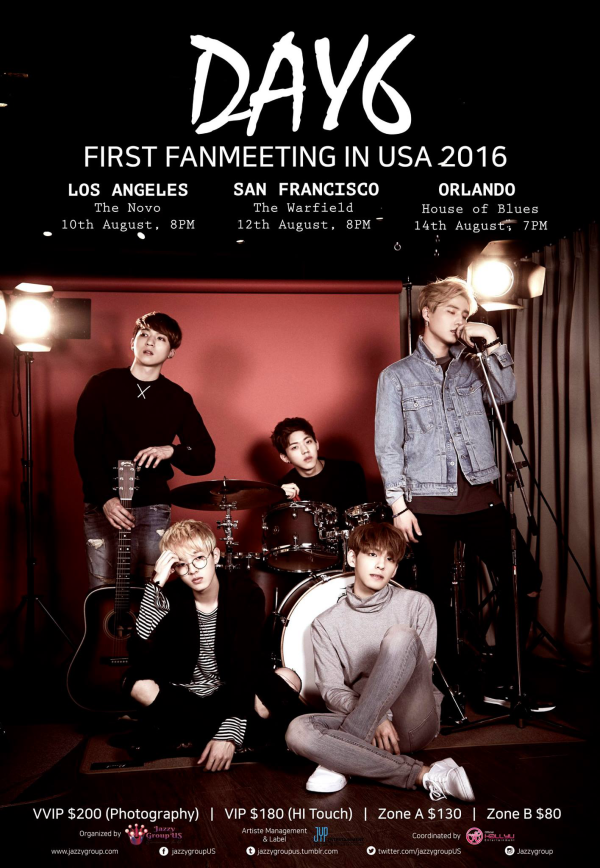 Day6 1st Fanmeeting in USA