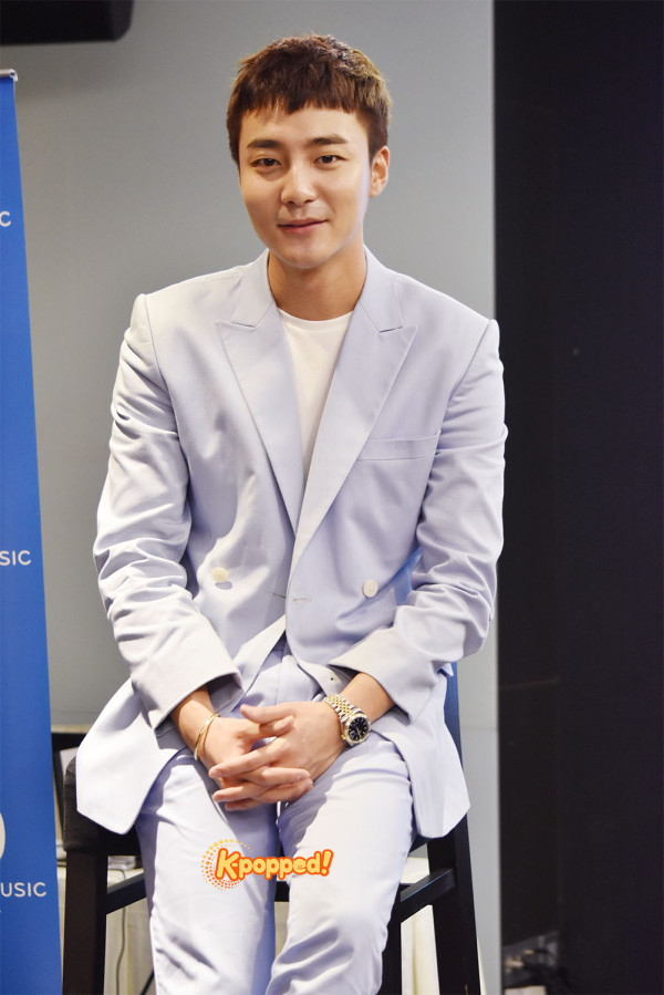 Roy Kim in Malaysia Press Conference (1)