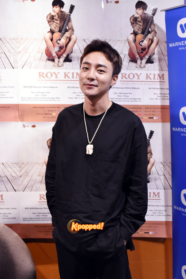 Roy Kim interview (1)