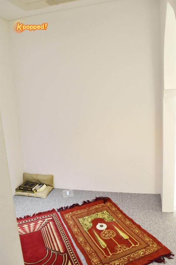 K-Style Hub prayer room