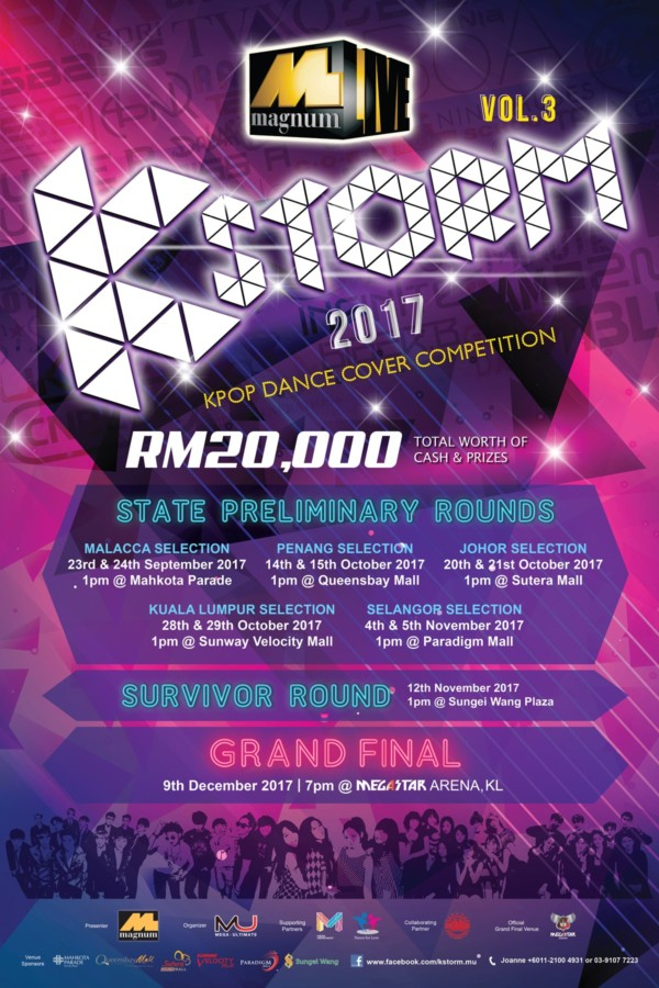this annual event is not to be missed as the participating teams will be showcasing their k pop passion and impressive dance moves on stage to fight for the