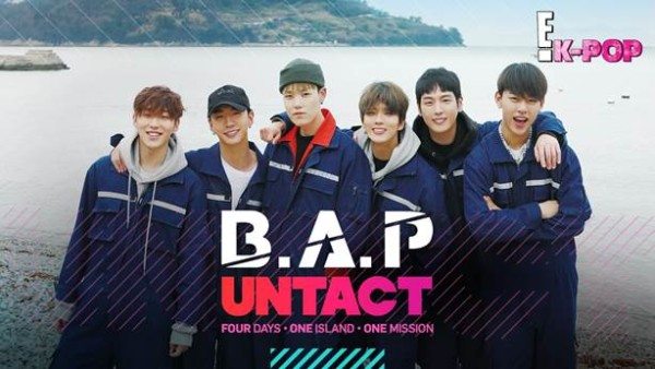 B.A.P Untact - Four Days. One Island. One Mision. · K-POPPED!