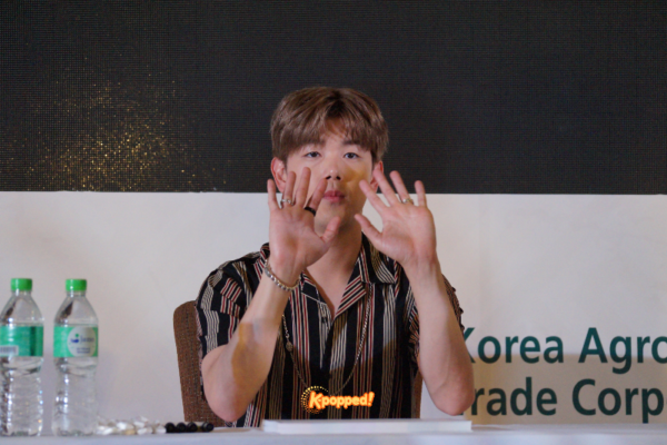 Event Coverage] Eric Nam Wows Fans at K-Food Fair 2018 in Sunway