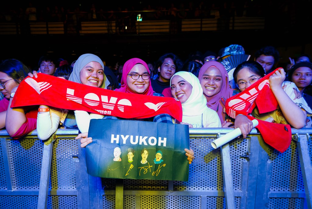 [Event Coverage] U Mobile With Upfront Present HYUKOH Live in Malaysia
