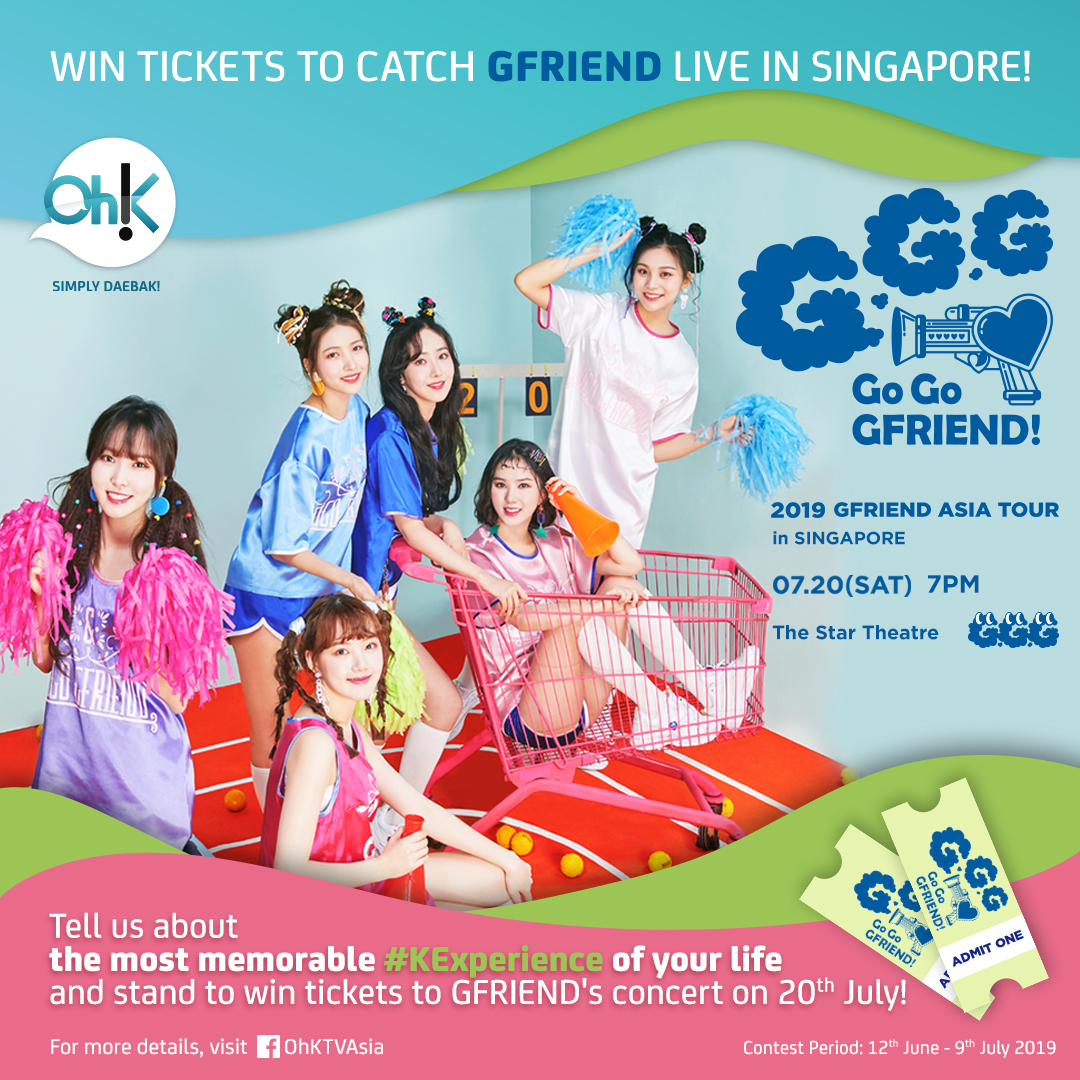 Stand a chance to win tickets to GFRIEND's concert in Singapore! · K