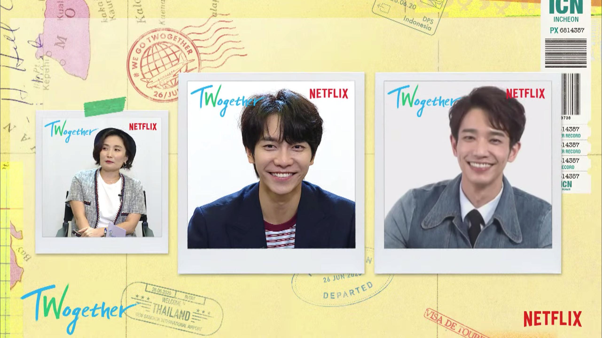 Jasper and Seunggi have similar smiles!