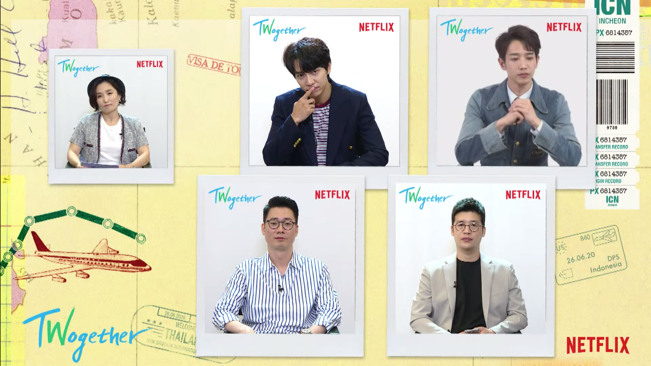 PDs, Seunggi and Jasper during the online press conference
